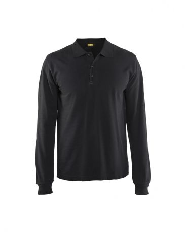 Blaklader 3388 Polo Shirt Long Sleeves (Black)